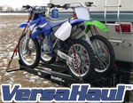 Double Motorcycle Carrier with Ramp