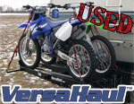 Double Motorcycle Carrier with Ramp - USED