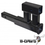 Class III Dual Hitch Receiver (fits 2&quot; receivers)