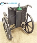 Single Wheelchair Oxygen Carrier